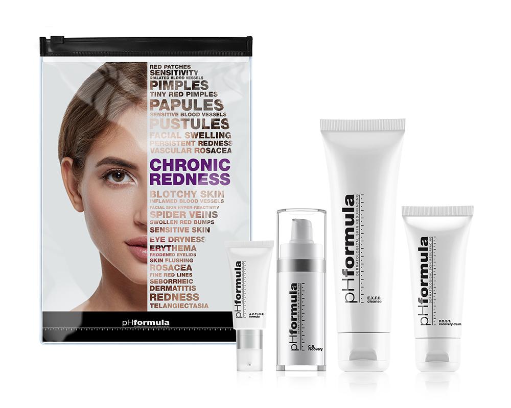 Процедура обновления кожи с хроническим покраснением